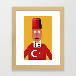 The Turkish Framed Art Print
