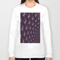 the shining Long Sleeve T-shirts featuring Shining fractal. by Assiyam