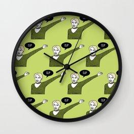 Clip Wall Clock