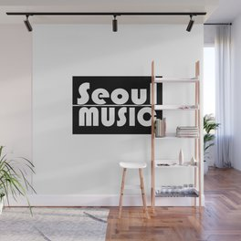 Seoul Music II Wall Mural
