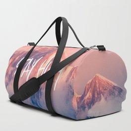 Stay Rocky Mountain High Duffle Bag
