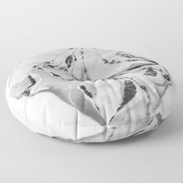 B&W Floor Pillow