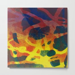 Abstract No. 124 Metal Print