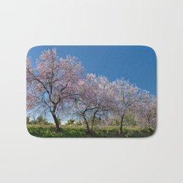 Algarve almond blossom Bath Mat