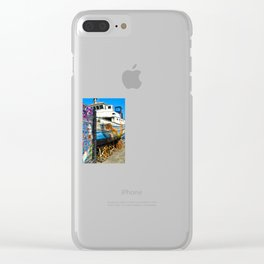 Old Sicilian Port of Alcitrezza Clear iPhone Case