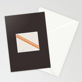 Minimalist Bacon Stationery Cards