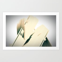 urban structures Art Print