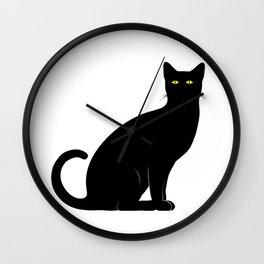 BLACK CAT DESIGN Wall Clock