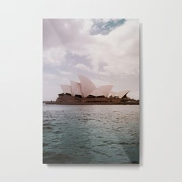 Sydney Opera House | Australia Travel Photography Metal Print