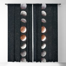 Phases of the Moon II Blackout Curtain