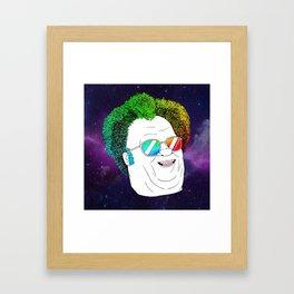 more like, Dr. Steve RULES Framed Art Print
