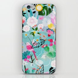 jolly birds iPhone Skin