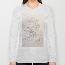 Betty White Long Sleeve T-shirt