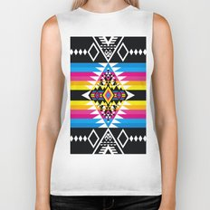 Big Diamond CMYK Biker Tank