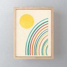 Sunlight Retro II Framed Mini Art Print