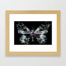 Papillon _ Innocent when You dream Framed Art Print