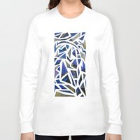 cracked Long Sleeve T-shirts featuring Cracked by Lachlan Willis