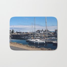 Let's Go Boating Bath Mat