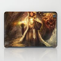wizard iPad Cases featuring Wizard queen  by Alexandrescu Paul