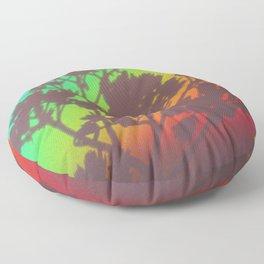 Rainbow's End Floor Pillow