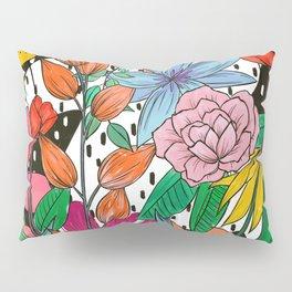 Colorful Floral Explosion Pillow Sham