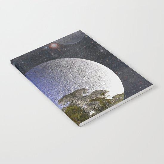'Faint indeterminate glimpses... Notebook