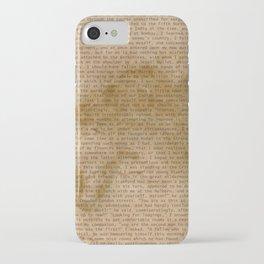 My Dear Watson iPhone Case