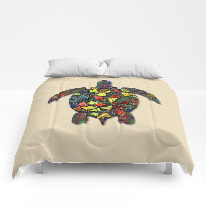 Animal Mosaic - The Turtle Comforters