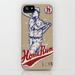 Home Run Lite iPhone Case
