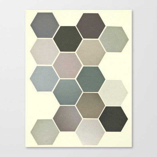 Shades of Grey Canvas Print