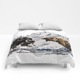 Bull and Bear Comforters