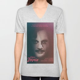 Doctor Zhivago, minimalist movie poster, David Lean film,Omar Sharif, Boris Pasternak, book cover Unisex V-Neck