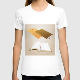 Book collection T-shirt