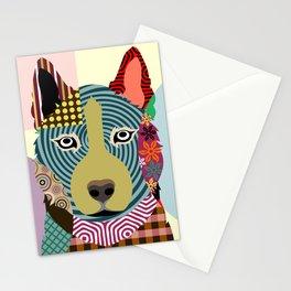 Siberian Husky Stationery Cards