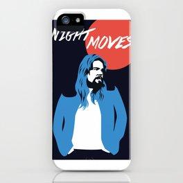 NIGHT MOVES: BOB SEGER iPhone Case