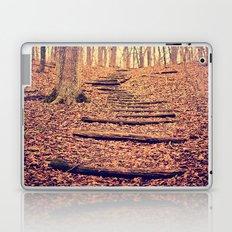 Path in the Woods Laptop & iPad Skin