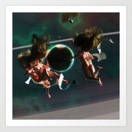 Planet Nymphs Art Print