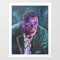 Art Print featuring Marlow, 30 Days of Night by Shawn Conn
