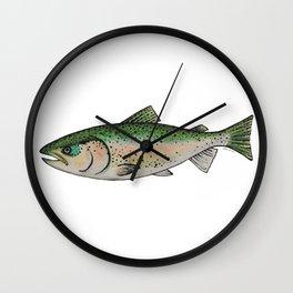 Rainbow Trout Wall Clock