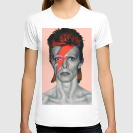 pinky bowie3 T-shirt