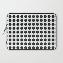 (Overworked) Guardian Angel Polka Dots Laptop Sleeve