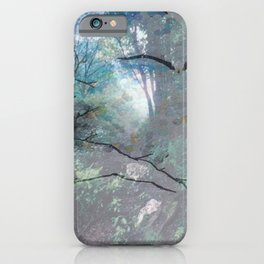 """""""Eagle In The Mist"""" iPhone Case"""