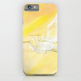 Great Egrets iPhone Case