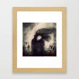 Snow blind Framed Art Print