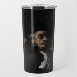 "Honoré Daumier ""A Meeting of Lawyers"" Travel Mug"
