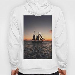 Sunset Sailboat Hoody