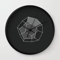 prism Wall Clocks featuring Prism by ArtCream