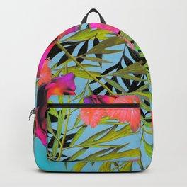 Hawaiian Print I Backpack