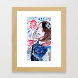 BLOOM || Framed Art Print