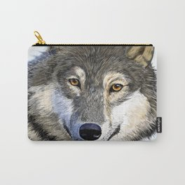 Eyes of the Wolf Carry-All Pouch